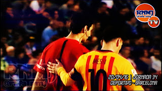 Ricardo de Brugos Bengoetxea, se acercó a Leo Messi y le habló, tapándose la boca