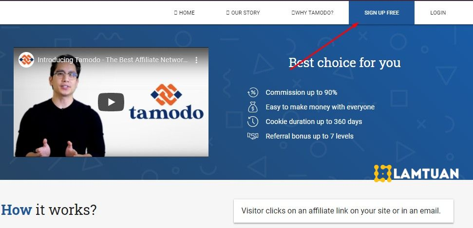 Đăng ký Tamodo