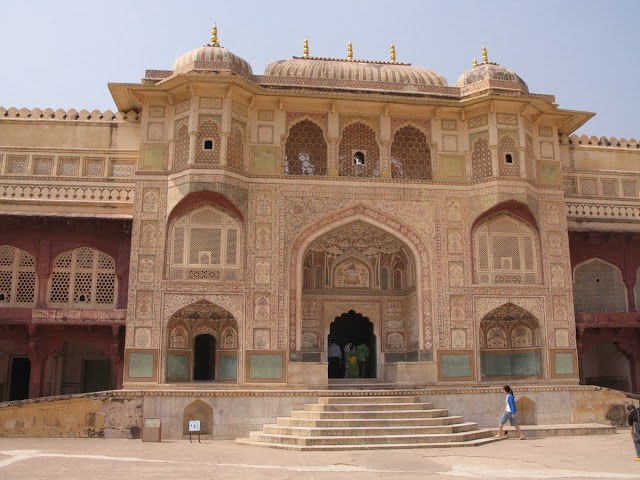 main gate of Amber fort jaipur rajasthan