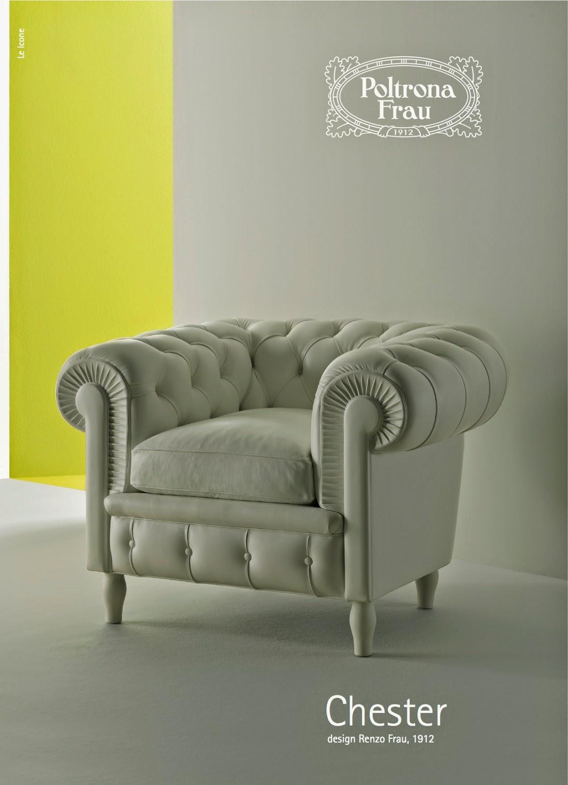 I Love Casa Poltrona Frau La Chester dal 1912