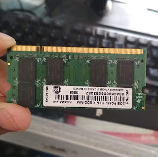 Jual Memory Ram Laptop / Notebook DDR2 2 Gb Second di Makassar
