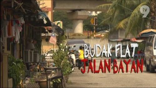Tonton lakonan Syafie Naswip menerusi telemovie Budak Flat Jalan Bayan di kaca tv anda.
