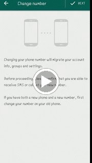 How to change number in whatsapp