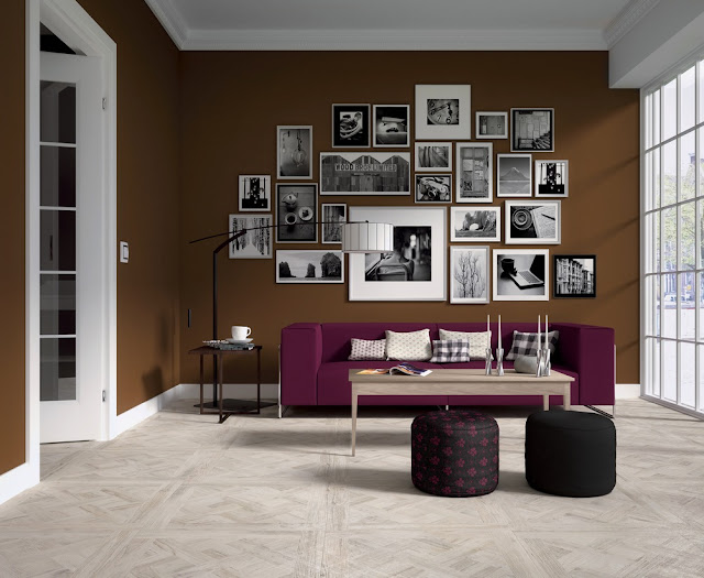 Artistic Wood Look Ceramic Tiles from Ariana - home987.blogspot.com
