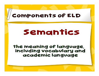 Terms for  ELD, ESL, EFL