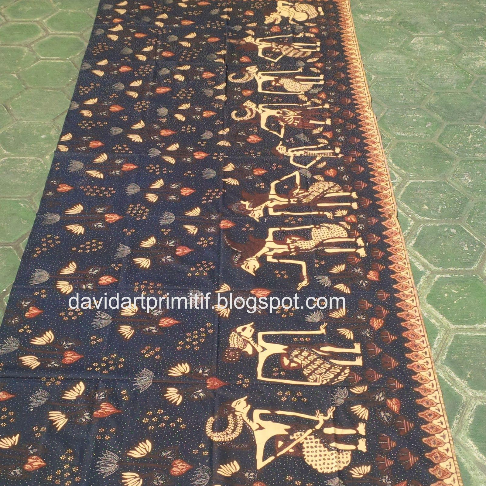 4 Penemu Batik Tulis: Art & Primitif: Batik Tulis Cirebon Motif Wayang