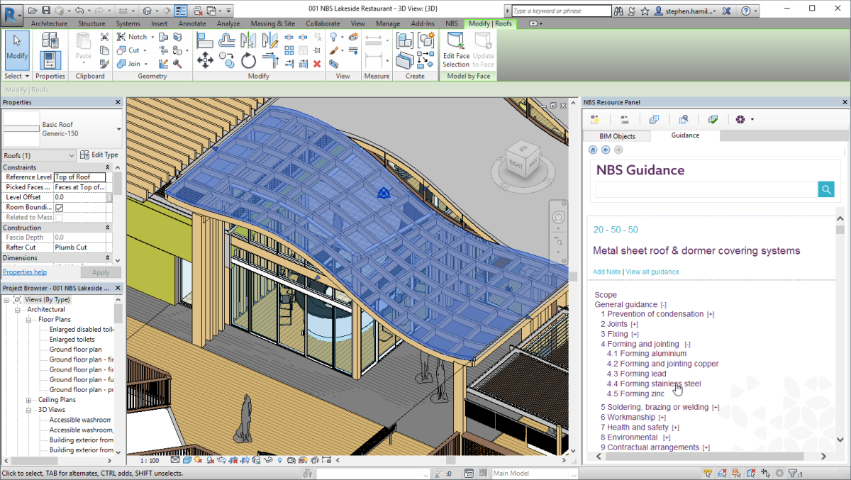 Enhancements to the NBS plug-in for Autodesk Revit - Revit news