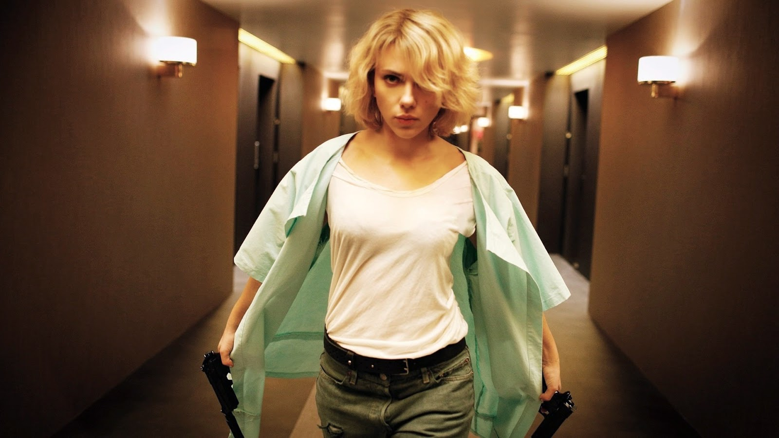 Scarlet Johansson as Lucy, Directed by Luc Besson