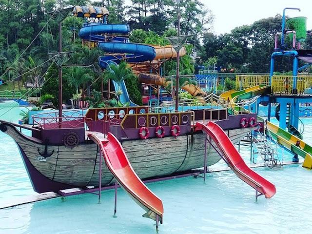 Karang Setra Waterland, Tempat Rekreasi Air Legendaris di Bandung