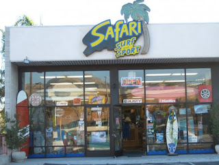 Safari Surf Shop Exterior