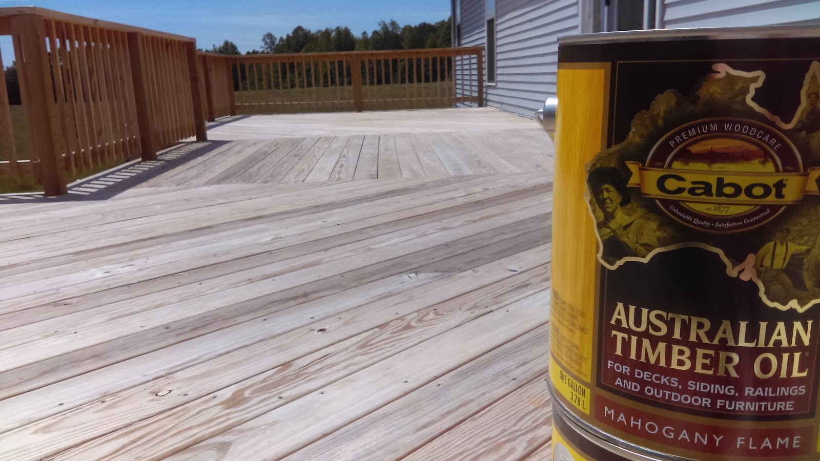How Good is Cabot's New Water-Based ATO Stain?   Suburban ...