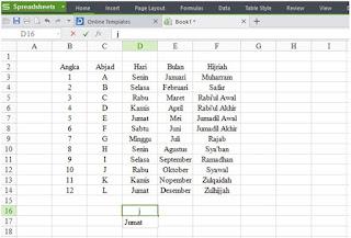 Mengisi Data Otomatis di Excel