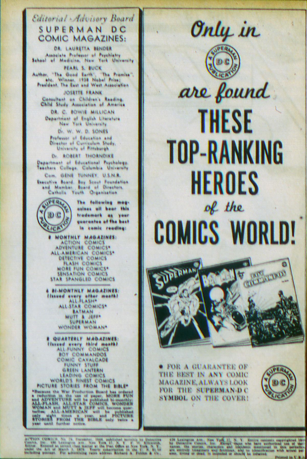 Read online Action Comics (1938) comic -  Issue #79 - 3