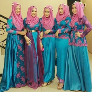 Kebaya Pesta Modern Hijab