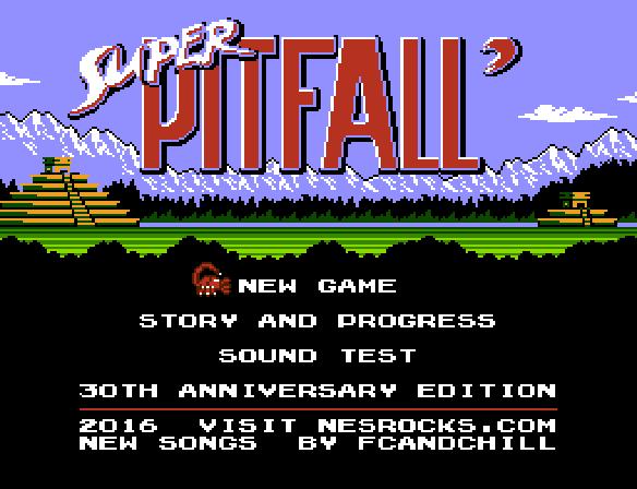 Retro Roms: Rom Hack - Super Pitfall 30th Anniversary