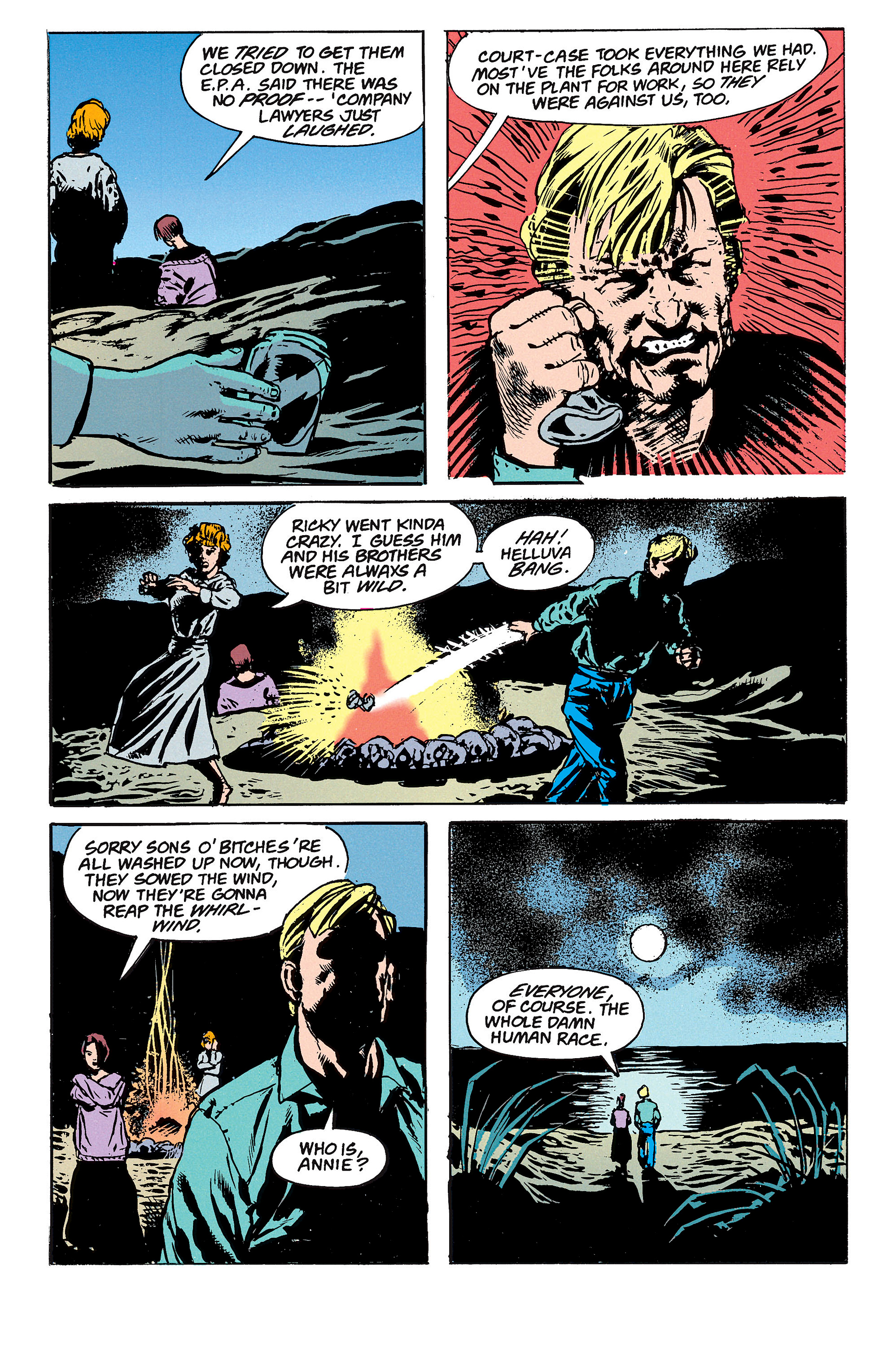 Read online Animal Man (1988) comic -  Issue #62 - 22