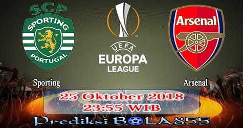 Prediksi Bola855 Sporting vs Arsenal 25 Oktober 2018