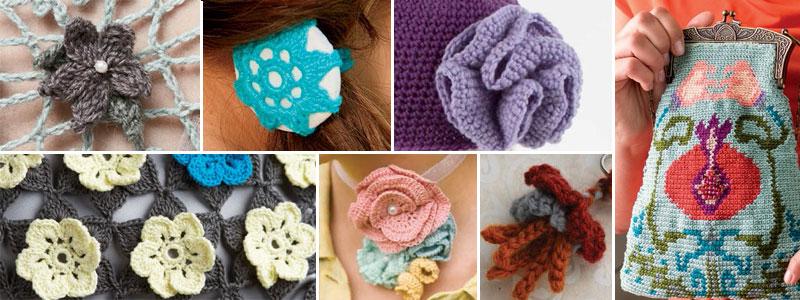 Ergahandmade Crochet Flowers 9 Free Crochet Flower Patterns