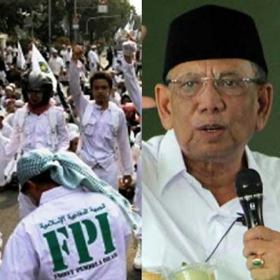 Desakan FPI Dibubarkan, KH Hasyim Muzadi Menolak. Ini Alasannya!