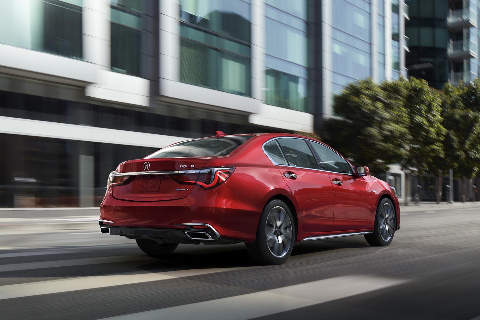 "VWVortex.com - 2018 Acura RLX facelift revealed - Adopts Acura's new ""Precision Crafted ..."