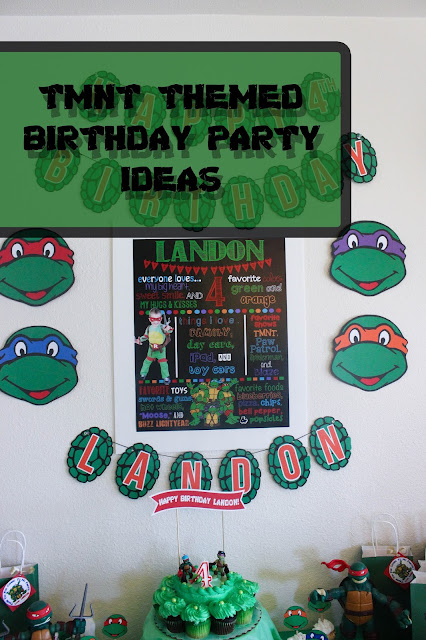 TMNT Themed Birthday Party Ideas