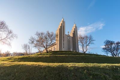 Iglesia principal de Akureyri