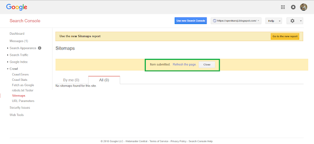 How to add your website in Google Search Console