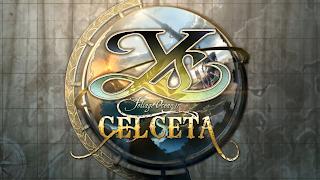 Ys: Memories of Celceta Logo Wallpaper