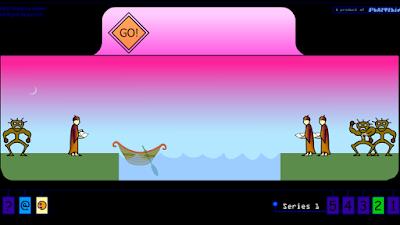 تحميل لعبة عبور النهر مع الوحوش القديمة