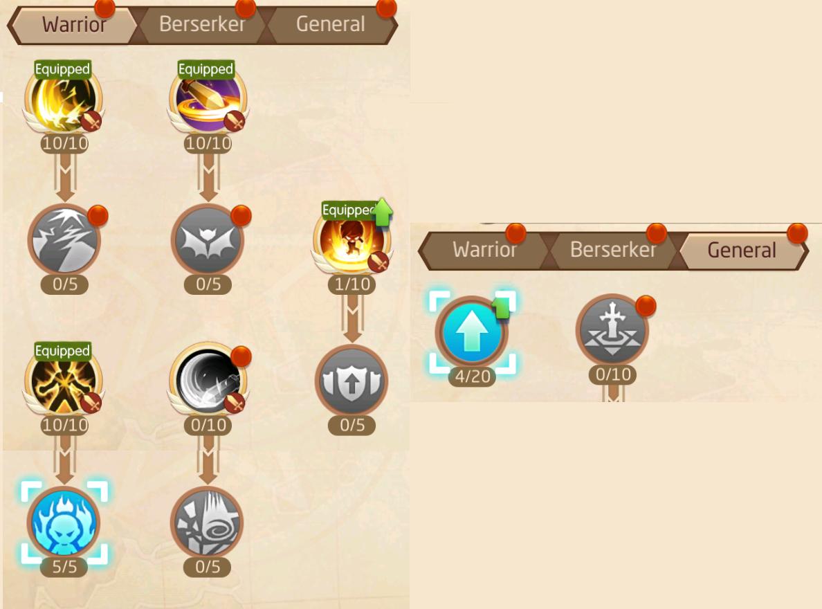 Laplace M / Tales of Wind ] Warrior - Berserker PvE Skill Build