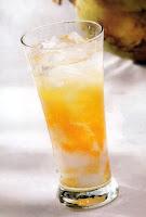 es kelapa muda campur jeruk
