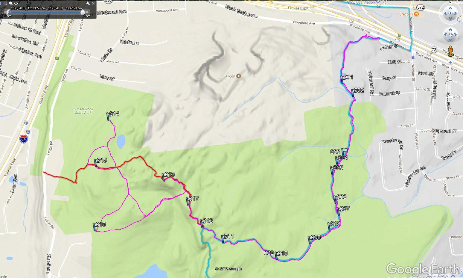 2018130 Metacomet Trail New Britain Plainville CT Maintenance