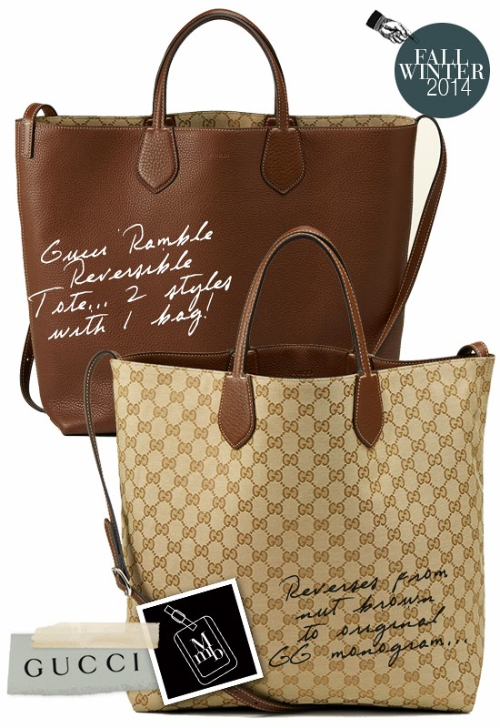 ef8db521557c Below: Since I feel 'logomania' may be making a comeback... I vote for this  version (below) which reverses from a gorgeous nut brown to GG monogram  canvas.