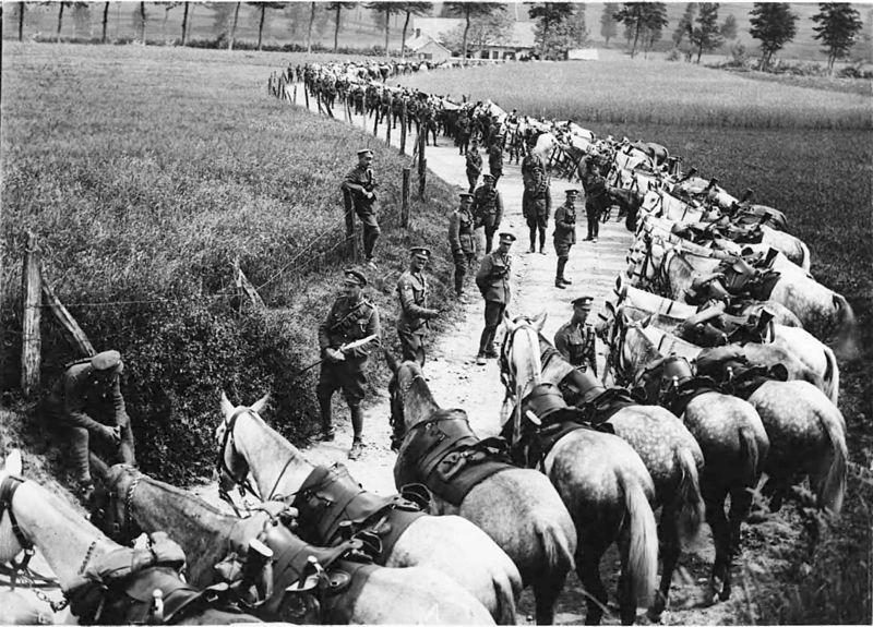 Lanças usadas na Primeira Guerra Mundial