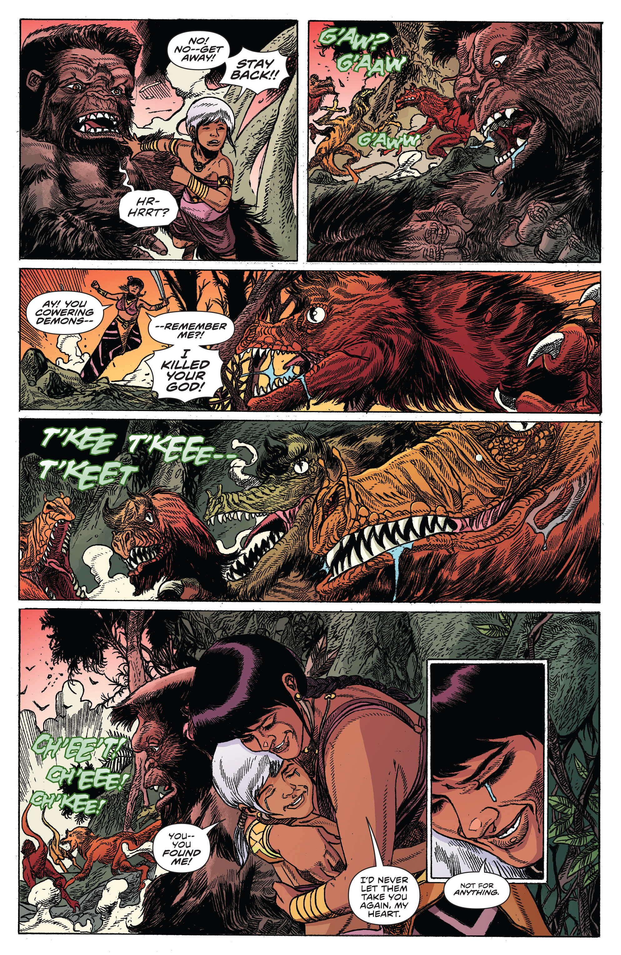 Read online Kong Of Skull Island comic -  Issue #12 - 14