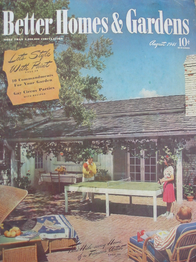 Better Homes Gardens: Gold Country Girls: Happy 90th Anniversary To Better Homes
