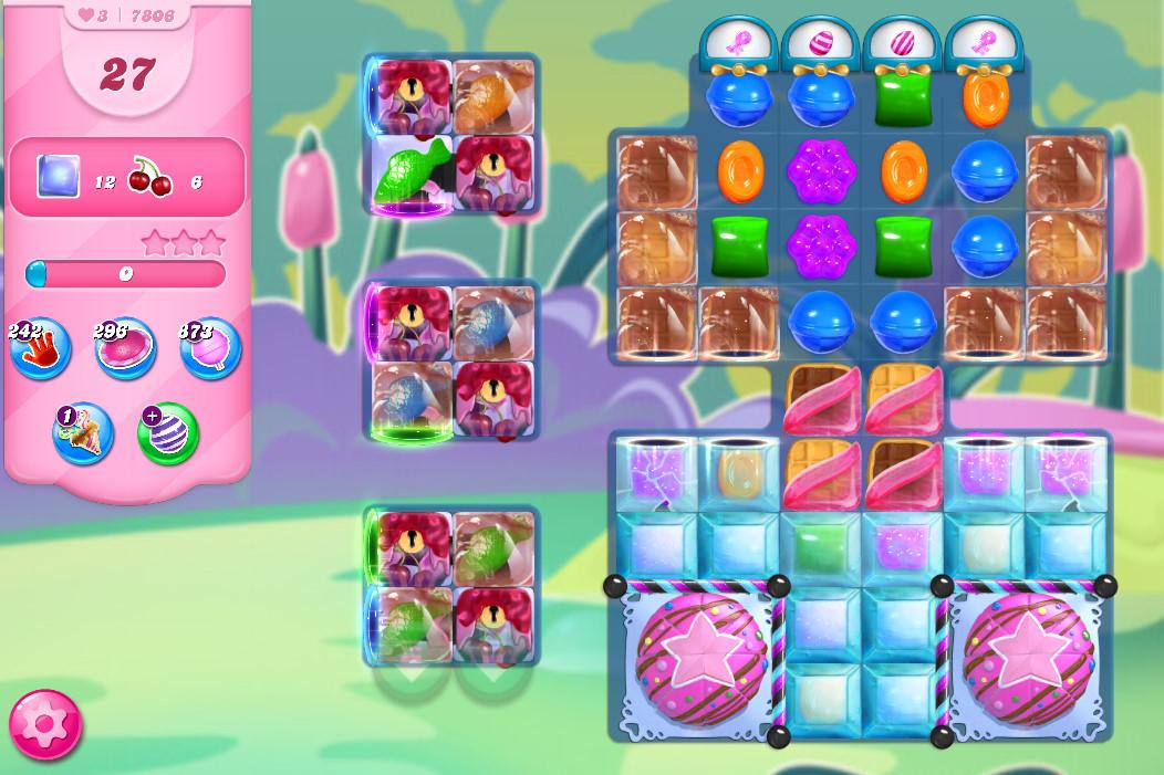 Candy Crush Saga level 7806