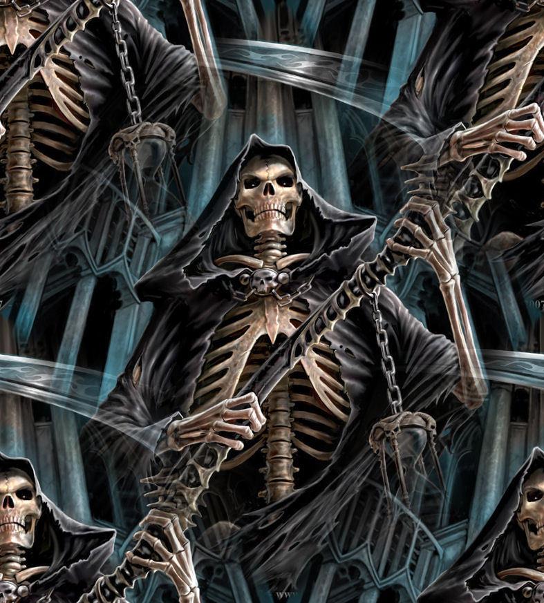 Skeleton skull the grim reaper - Reaper wallpaper ...