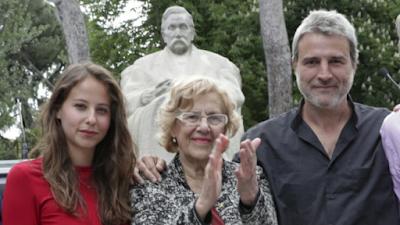 Carmena, Ahora Madrid, Podemos, carmena, san juan, obra, teatro