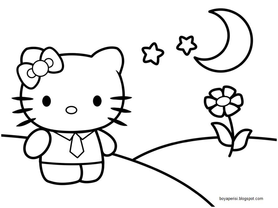Hello Kitty çocuk Boyama Kitabı çocuklar Için Boyama Resimleri