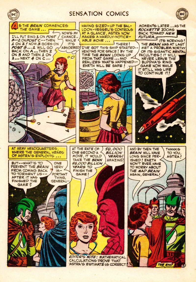 Read online Sensation (Mystery) Comics comic -  Issue #106 - 32
