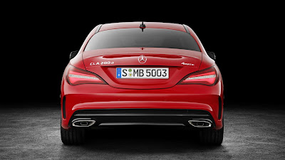 Mercedes CLA Facelift rear look Hd Images