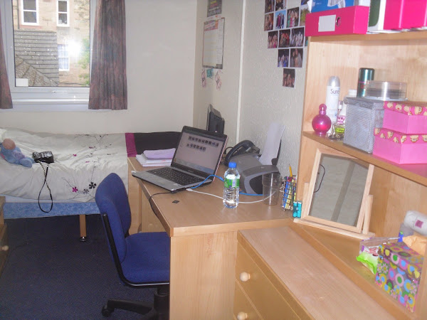 University Halls of Residence Room Tour