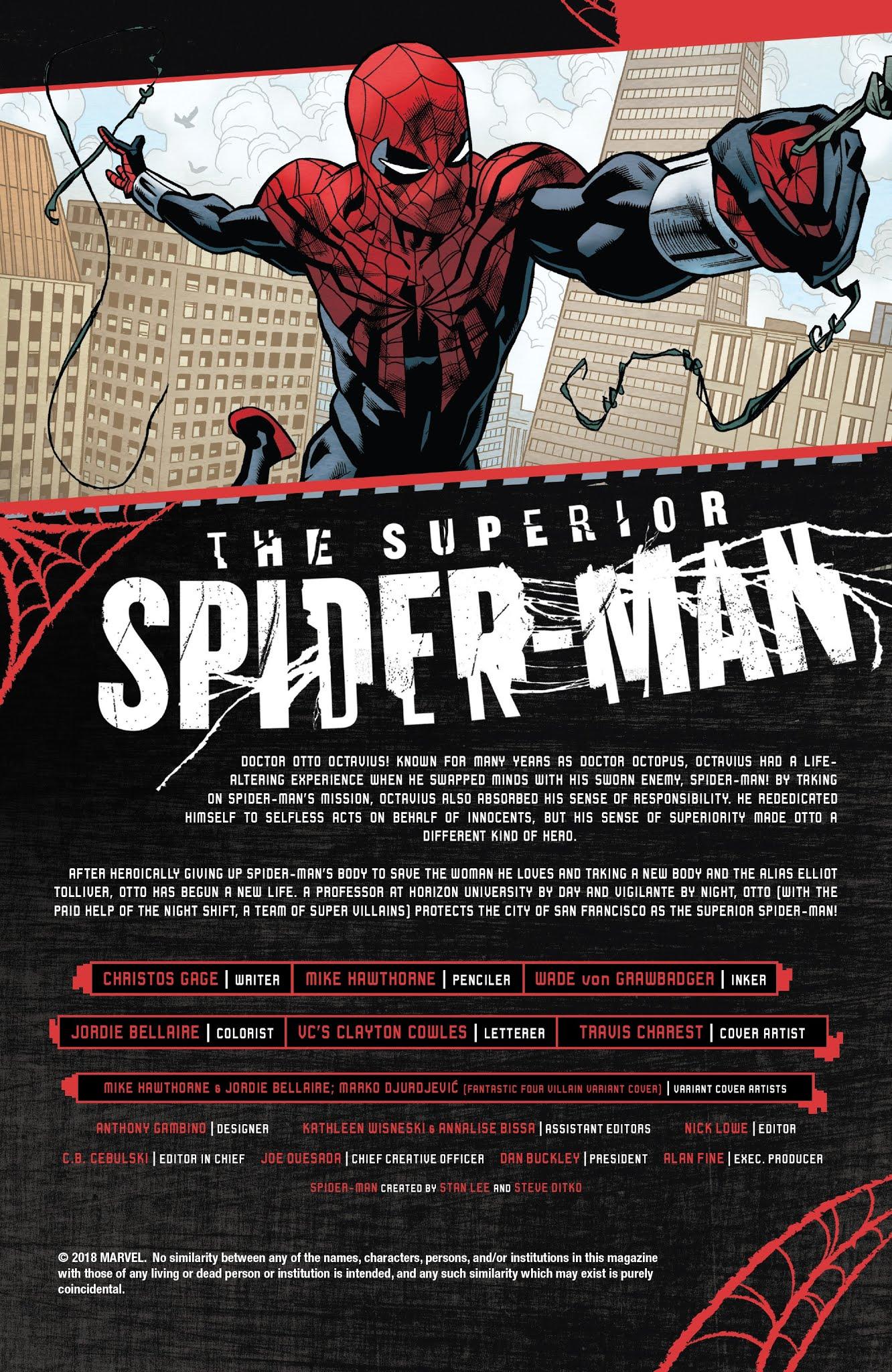 Superior Spider-Man (2019) issue 1 - Page 3