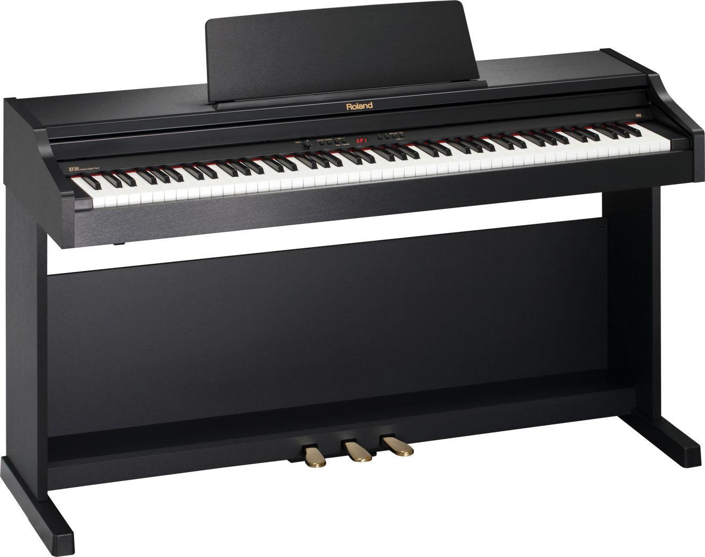 az piano reviews review roland f120 rp301 digital pianoa. Black Bedroom Furniture Sets. Home Design Ideas