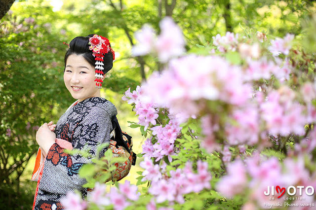 京都で成人式前撮り
