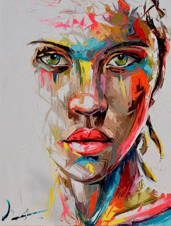 pinturas-femeninas-captan-la-interacción-emocional-y-física mujeres-percepcion-abstracta