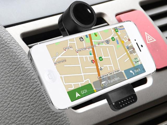 GPS no celular em San Francisco