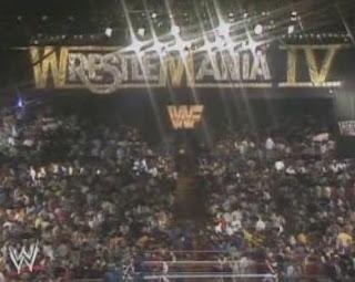 WWF / WWE WRESTLEMANIA 4: The live Wrestlemania crowd