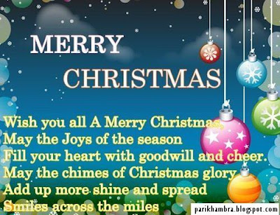 Pari Khambra: Merry Christmas Quotes Images For Friends